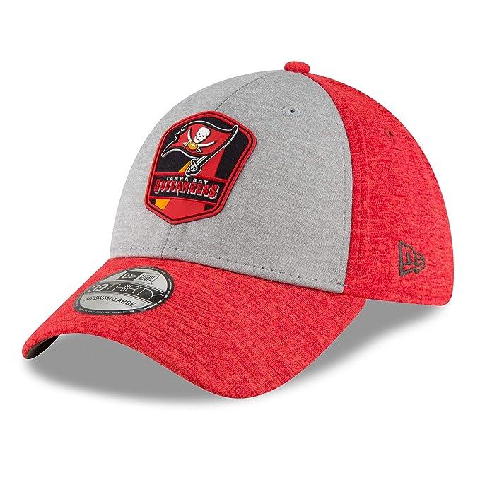 new concept 0ee94 0d1b1 New Era 39Thirty Cap - Sideline Away Tampa Bay Buccaneers  Amazon.co.uk   Sports   Outdoors