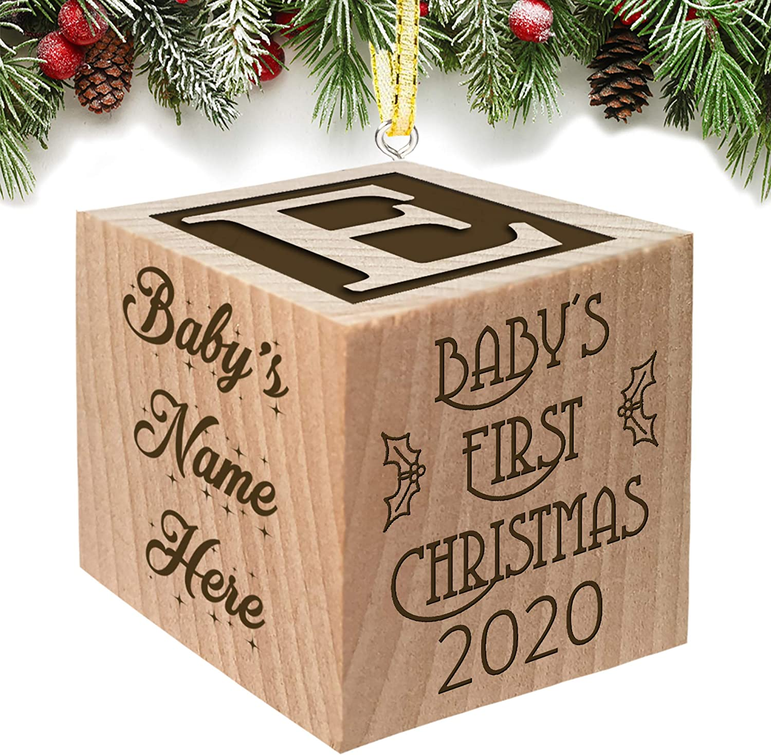 My First Christmas Ornament 2020 Amazon.com: Babies First Christmas Ornament Gift 2020 for Boy or