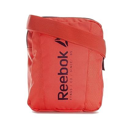 5c0f98994 Reebok Found City Bag Bolsa Bandolera, Niños, Naranja (fircor), Talla Única