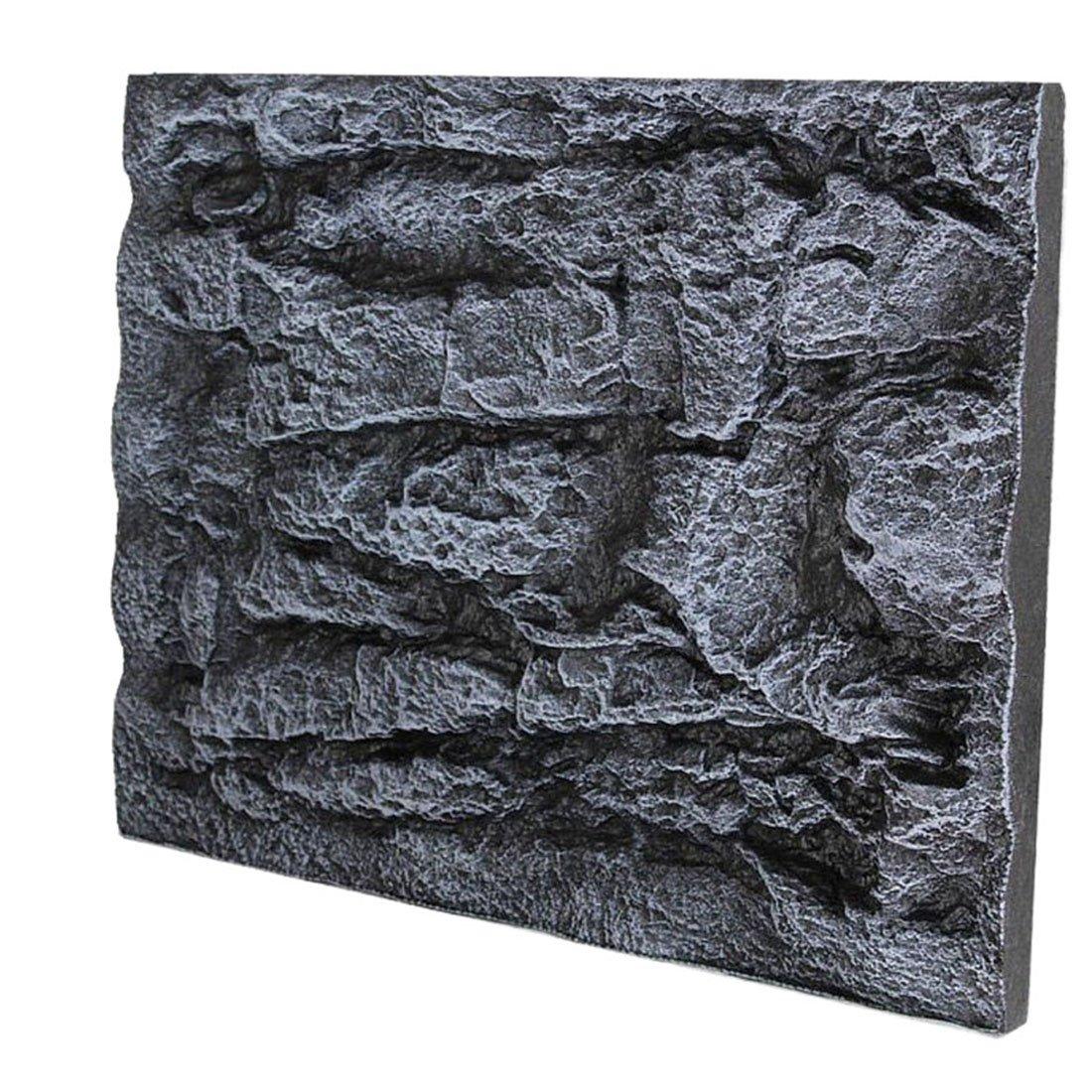 Jiyaru 3D Foam Rocks Background Fish Tank Board Aquarium Backdrop Decor 23x17 #2