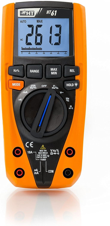 HT211 HT de Instruments compacto/ /Mult/ímetro digital con funci/ón de medici/ón de la temperatura