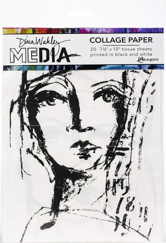 "Your Choice of Ranger Dina Wakley Media Stencils 6/"" x 9/"""