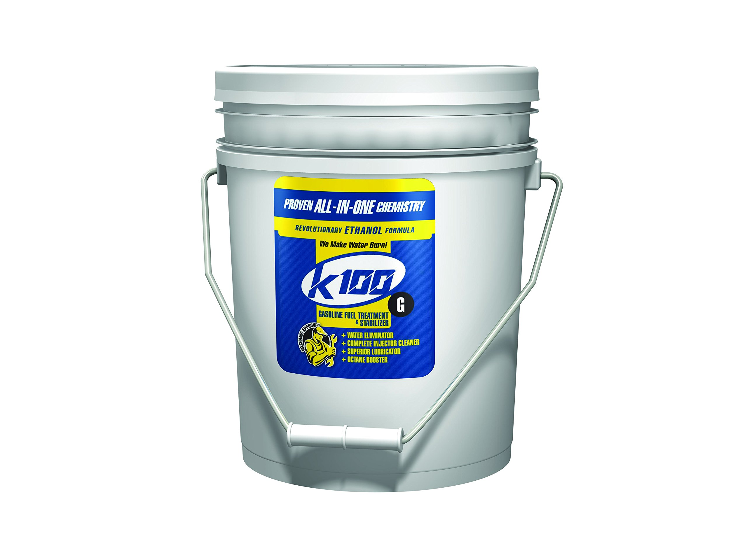 K-100 Fuel Treatment and Stabilizer, 5 gal, Pail