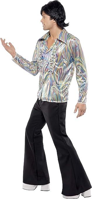 Amazon.com: Smiffy s – Disfraz de hombre años 70 Retro con ...