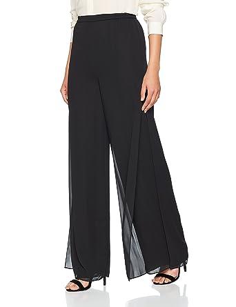 e95735b2b61 Gina Bacconi Women s Chiffon Layered Trousers  Amazon.co.uk  Clothing