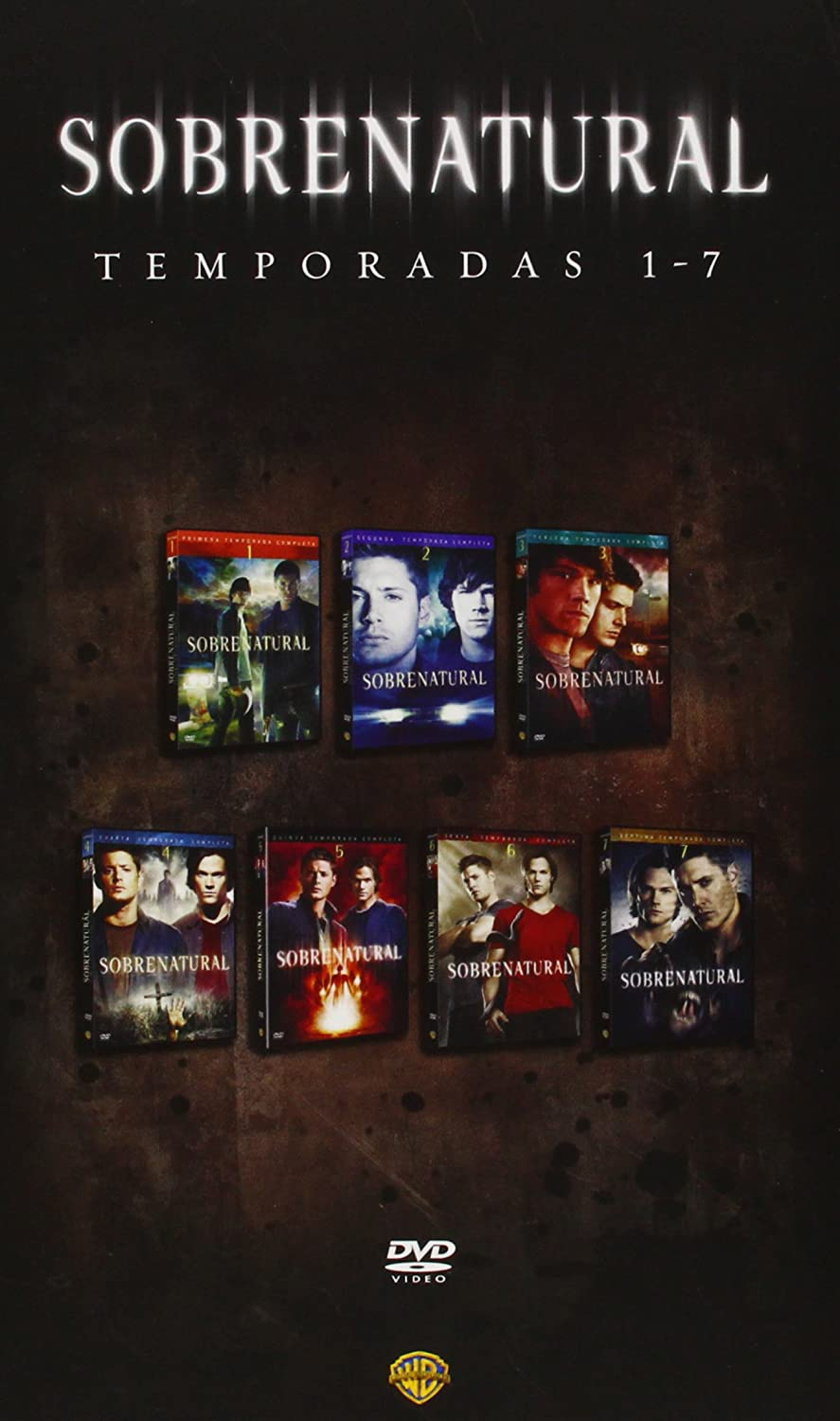 Pack Sobrenatural - Temporadas 1-7 [DVD]: Amazon.es: Jared Padalecki, Jensen Acklés, Eric Kriple, Jared Padalecki, Jensen Acklés: Cine y Series TV