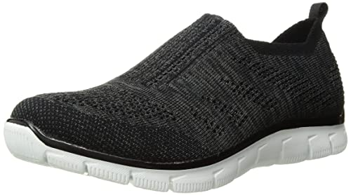 144a180e61c4 Skechers Empire Inside Look Damen US 8 Schwarz Wanderschuh  Amazon ...