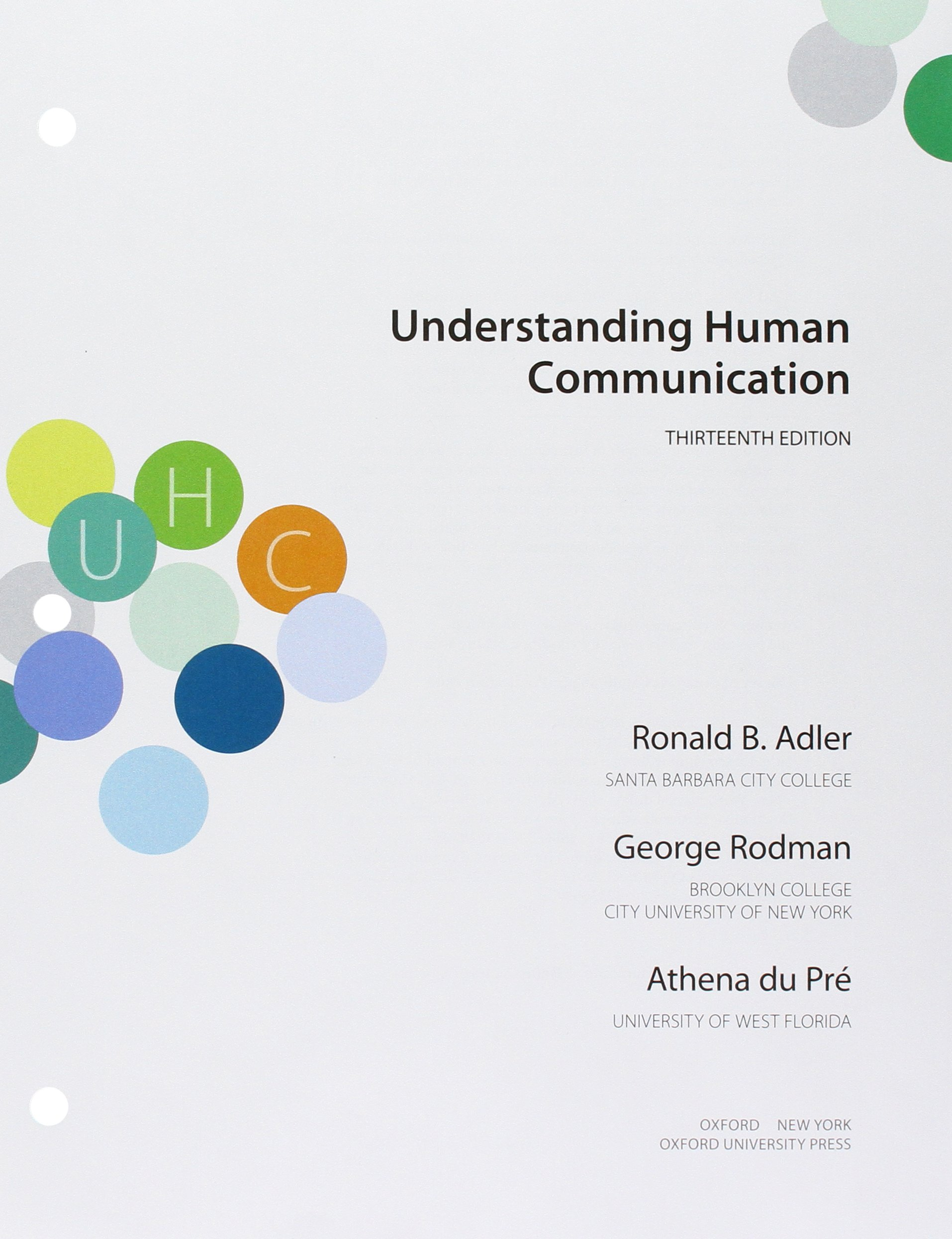 Understanding human communication 11th edition ebook.