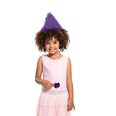 Disguise Trolls Purple Headband & Gem Costume Kit: Toys & Games