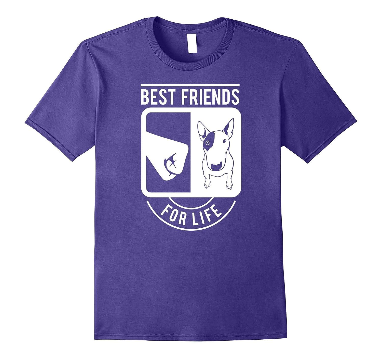 Best Friends for Life Bull Terrier Bullterrier-Art