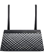Asus Modem Router DSL-N16 Wireless N 300 Mbps, Tecnologia VDSL 2 a 100 Mbps, 4 Porte Ethernet Fast, 1 Porta WAN