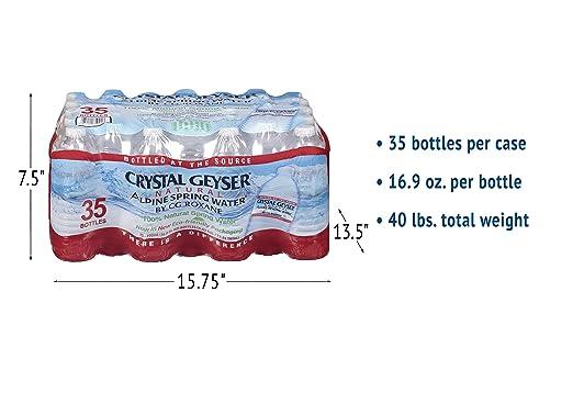 487cee7e1f7c4 Crystal Geyser Alpine Spring Water