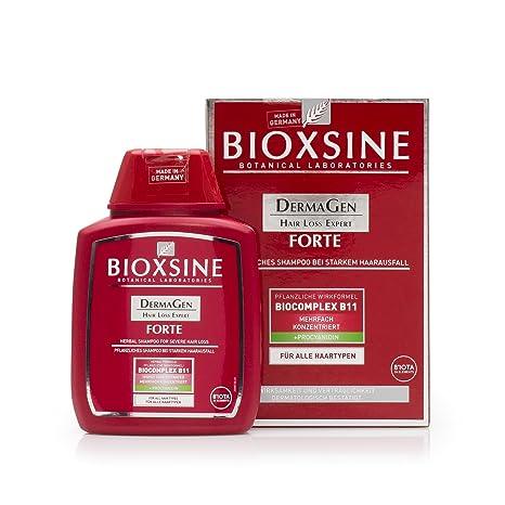 bioxsine Forte de hierbas champú para Intenso caída del cabello 300m