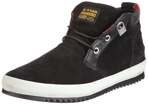 G-Star Breaker McNeil, Zapatillas de Estar por casa para Hombre, Black Suede 500, 40 EU: Amazon.es: Zapatos y complementos