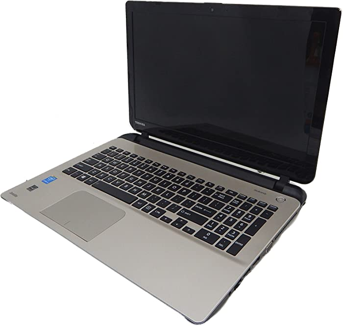 Toshiba Satellite L55-B5276 15.6 Inch Laptop (Intel Core i5-4210U, 8GB RAM, 1TB Hard Drive,Windows 8.1) Gold