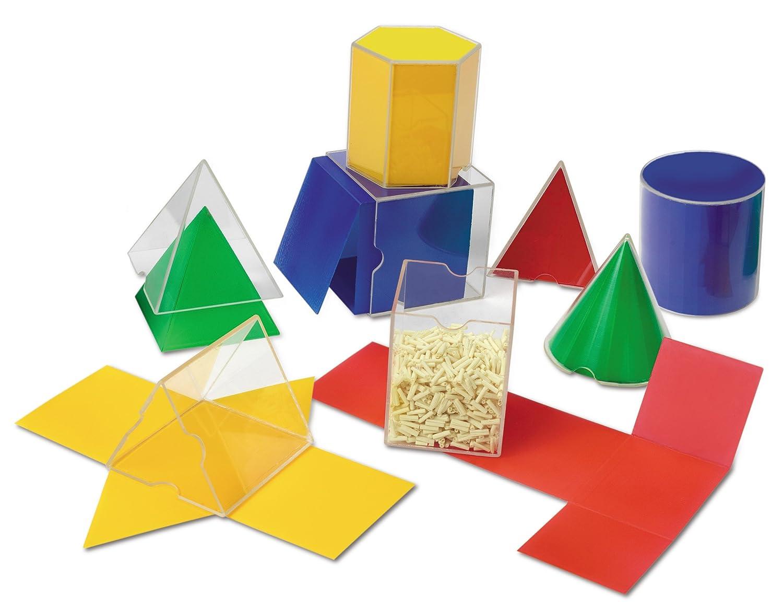 geometric math shapes classroom set