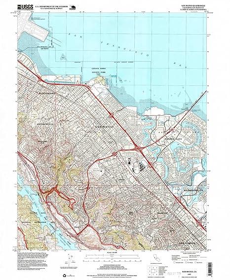 Amazon.com : YellowMaps San Mateo CA topo map, 1:24000 Scale ... on lake ca map, fresno ca map, palo alto ca map, hacienda ca map, skyline college ca map, seascape ca map, tucson ca map, san lorenzo valley ca map, solano beach ca map, n hollywood ca map, pasadena ca map, belmont ca map, rio del mar ca map, los altos ca map, fort yuma ca map, fort tejon ca map, puente hills ca map, chicago ca map, roseville ca map, sawyers bar ca map,