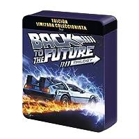 Regreso Al Futuro 1-3 (Ed. Metálica Especial) (BD + BD Extras + Postales) [Blu-ray]