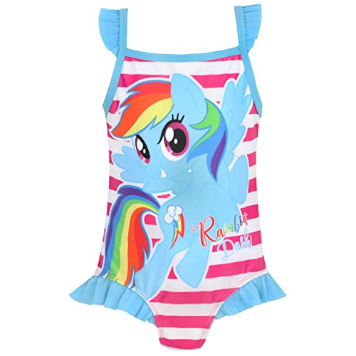 8d8dad7d9a My Little Pony Girls Rainbow Dash Swimsuit Ages 2 to 8 Years
