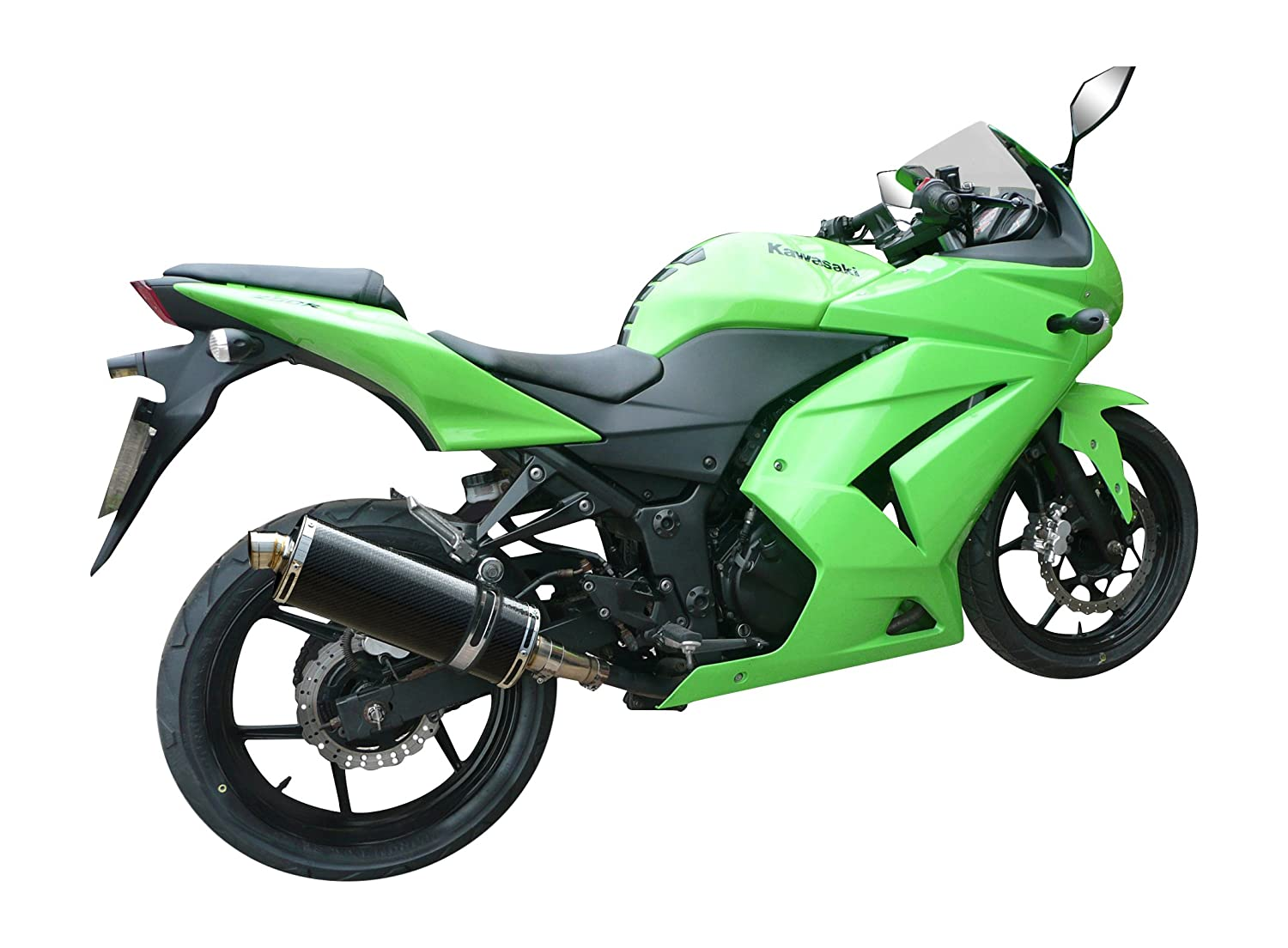 Kawasaki NINJA 250R 2008 - 2013 350 mm Carbono Road Legal ...