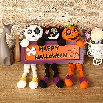 Amazon Com U Kiss Halloween Decorations 3 In 1 Children Toy Dolls