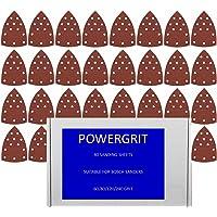 40hojas de lija compatibles con Bosch PSM 160A/PSM