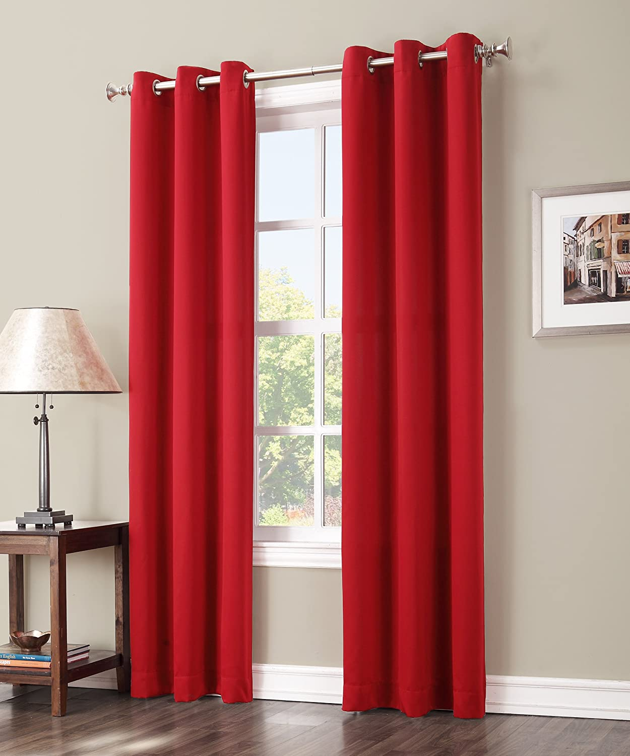 Sun Zero Easton Blackout Curtain Panel 40 X 63 Inch