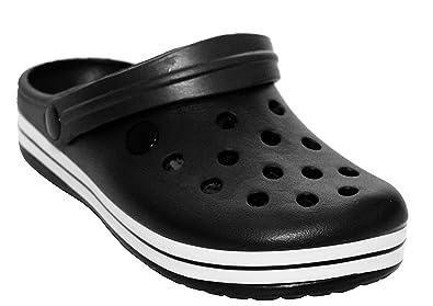 1ea10a6dc6112f A H Footwear Womens Ladies Slip On EVA Beach Summer Holiday Pool Nurse  Hospital Sandals Mules Garden