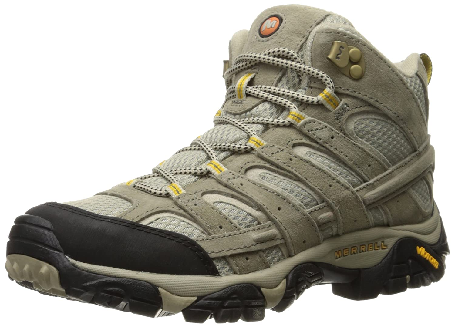 Merrell Women's Moab 2 Vent Mid Hiking Boot B01HFN01TY 8 B(M) US|Taupe