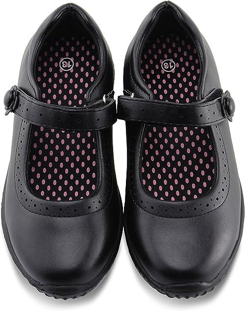 Mary Jane School Uniform Shoes black