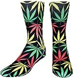 Zmart Men's Novelty Funny Crazy Colorful Athletic Basketball Sports Crew Tube Socks