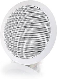 C2G 39904 6 Inch Ceiling Speaker (8 Ohm), White