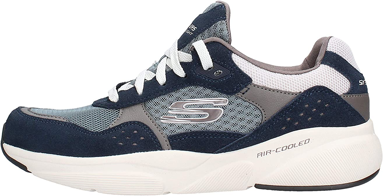 Skechers Sneaker da Uomo Blu in 52952 NVBL: Amazon.it