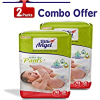 Little Angel Baby Pull Ups, Medium-112 Count (₹8.11 / Count)