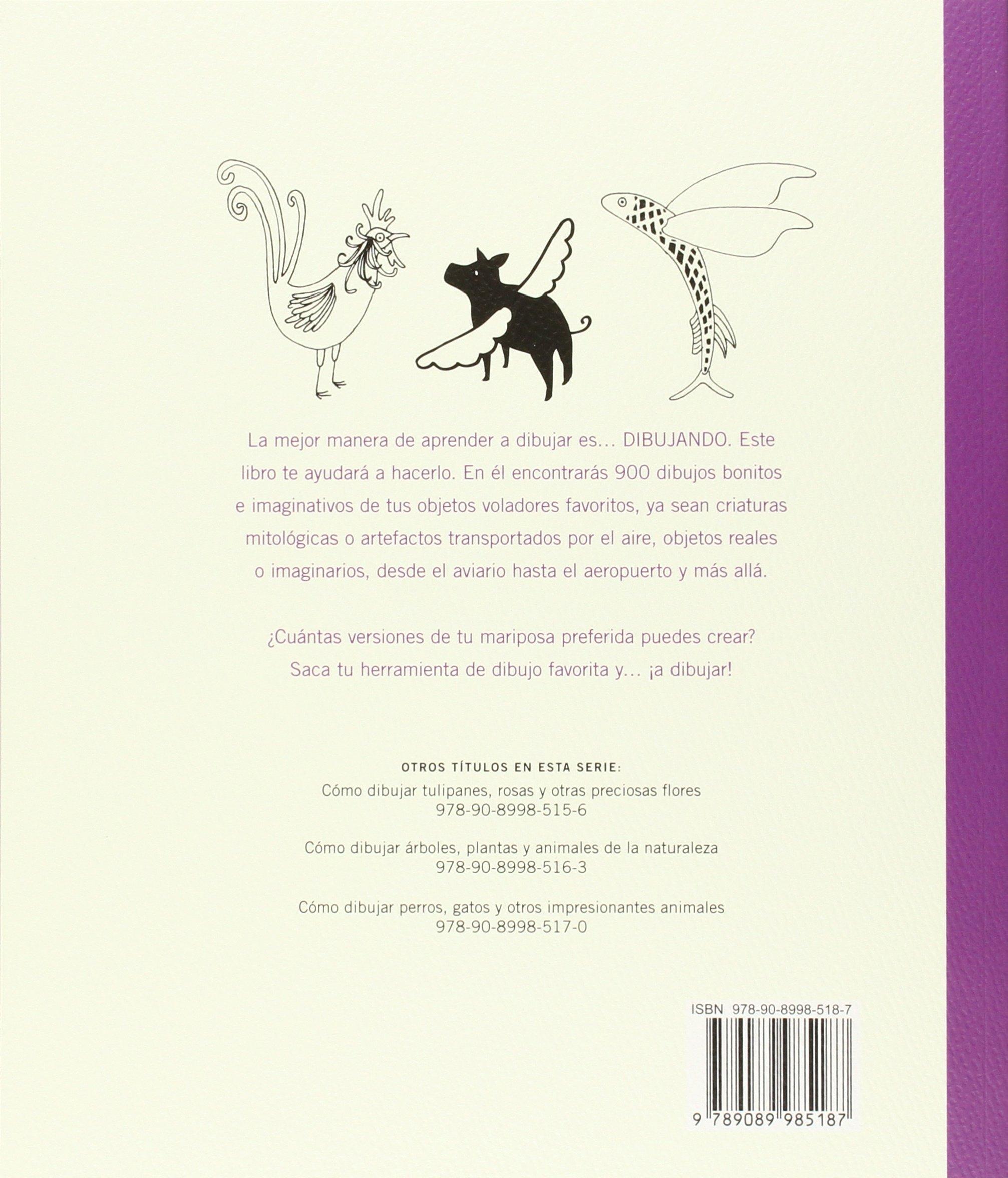 Cómo dibujar, mariposas, aves y otros objetpos: Varios: 9789089985187: Amazon.com: Books