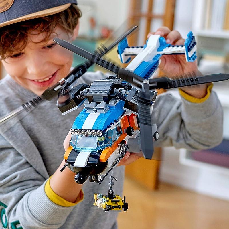 LEGO 乐高 创意百变系列 31096 双螺旋桨直升机 积木玩具 8折$47.99 海淘转运到手约¥418