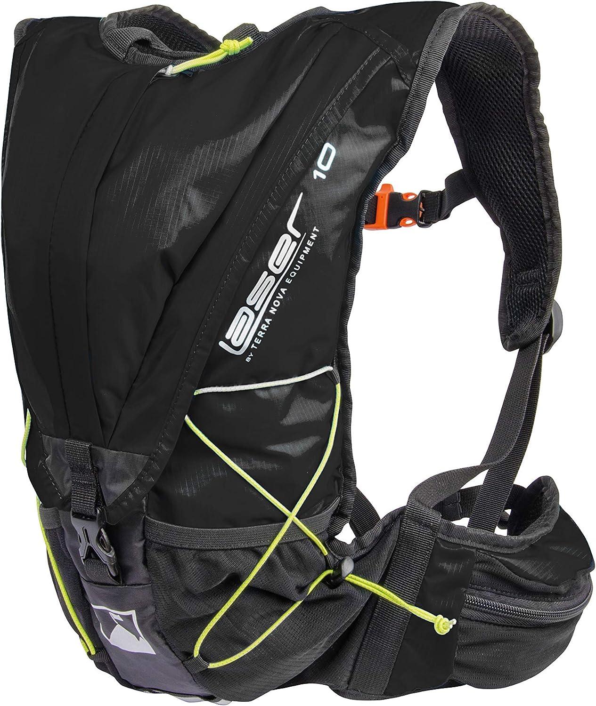Terra Nova Laser 10 Lightweight Backpack One Size Black