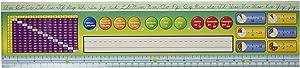 Eureka Back to School Elementary Grade 2-3 Large Classroom Name Plates, 36 pcs