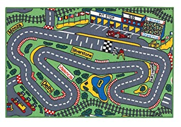 Map Of Uk Race Tracks.Superb Kids Formula 1 Racing Car Road Map Play Rug 1m X 1 5m 3 3 X 5 Approx