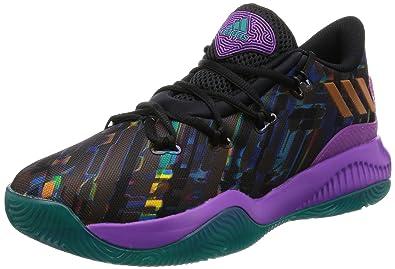 the latest 53034 968c0 adidas Men s Crazy Fire Basketball Shoes, Black (Negbas Pursho Eqtver) 8