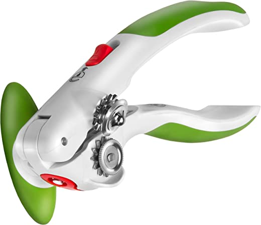 """ZYLISS Lock N' Lift Can Opener with Lid Lifter Magnet 7.5"""" Green 20366"""
