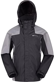 9e311915c Mountain Warehouse Torrent Kids Waterproof Rain Jacket - Taped Seams ...