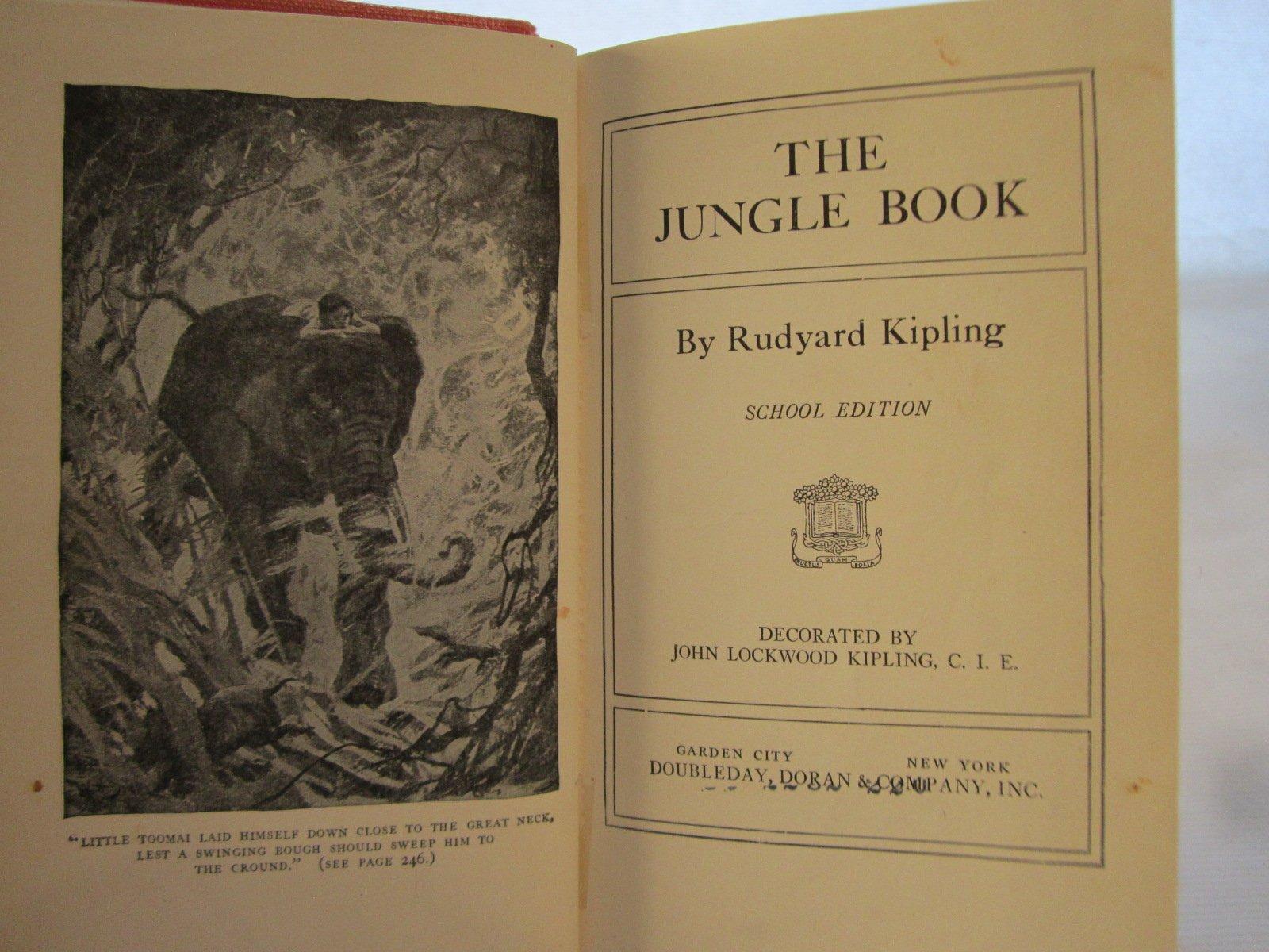 The Jungle Book (School Edition): Rudyard Kipling: Amazon.com: Books
