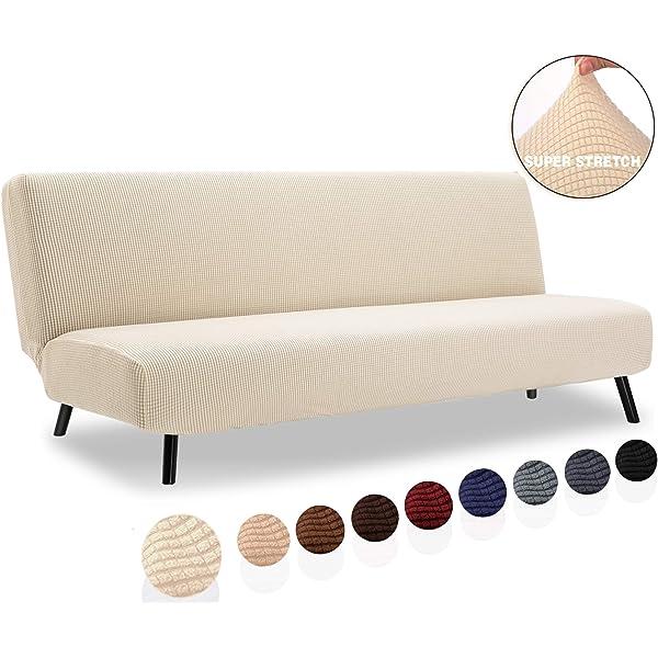 Amazon.com: Funda de sofá de 2 piezas y funda de futón de ...
