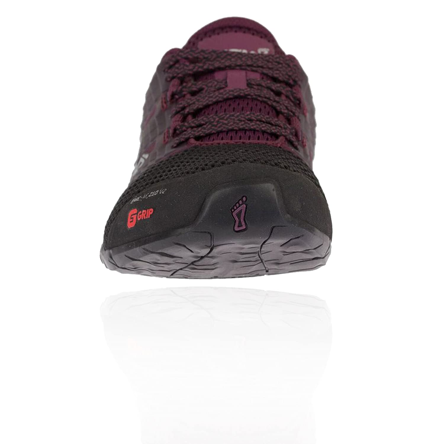 Inov-8 Women's Bare-XF 210 W V2 Sneaker B079Q4T9XP 8 W 210 UK|Black/Purple 243360