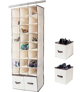 Amazon Com Storageworks Hanging Closet Organizer Foldable Closet