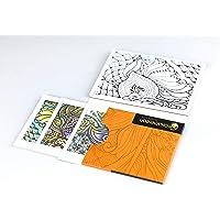 Chameleon Color Cards-Zen Boyama Kartları, Zen