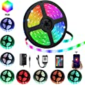 Ylcvbud 16.4-Foot RGB LED Strip Lights