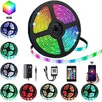 Ylcvbud 16.4-Foot RGB LED Strip Lights