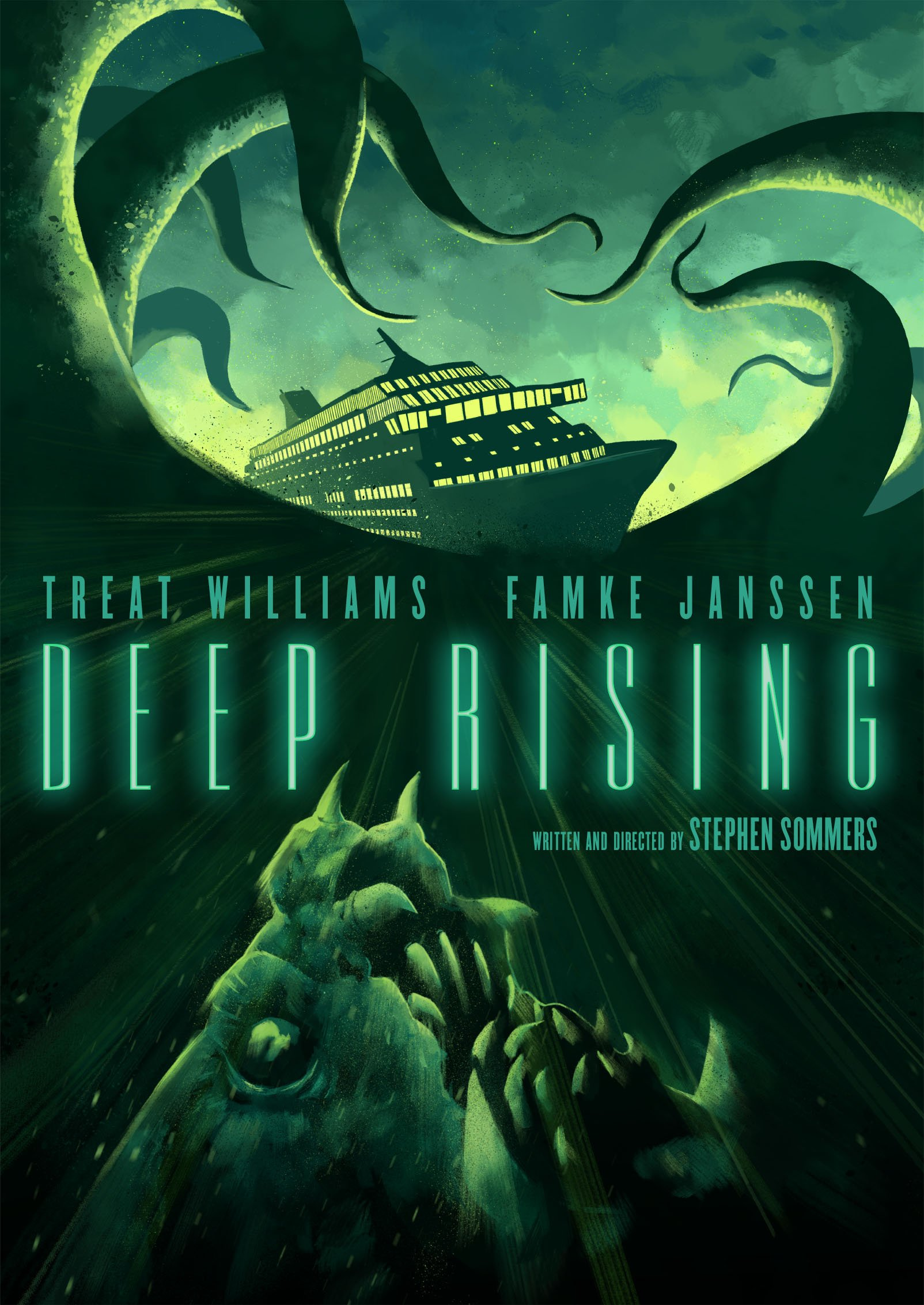 DVD : Deep Rising (Anniversary Edition)